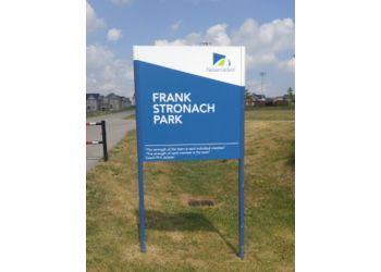 Newmarket public park Frank Stronach Park