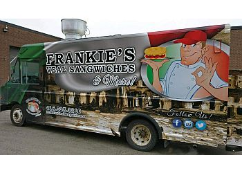Oshawa food truck Frankie's Veal Sangwiches & More