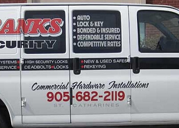 St Catharines locksmith Franks Security
