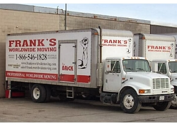 Kingston moving company Frank's Worldwide Moving