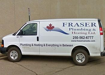 Prince George plumber FRASER PLUMBING & HEATING LTD.