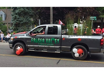 Sarnia landscaping company Fraser Valley Landscaping