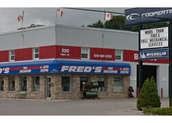 Orangeville car repair shop Fred's Tire Discounter Tire and Auto Service Centre