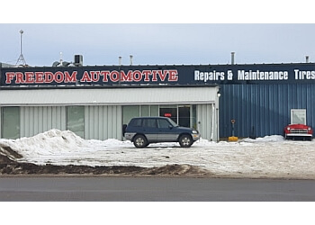Grande Prairie car repair shop Freedom Automotive Ltd.