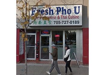 Barrie vietnamese restaurant Fresh Pho U Cuisine