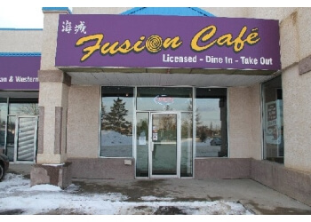 Red Deer chinese restaurant Fusion Cafe