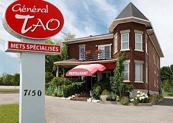 Quebec chinese restaurant Général Tao restaurant