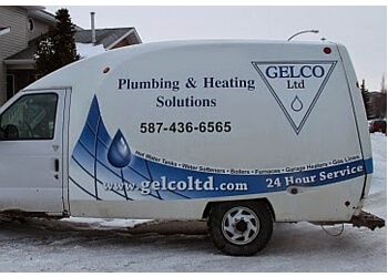 Airdrie plumber GELCO Ltd.