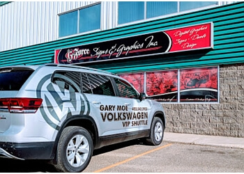 Red Deer sign company G-Force Signs & Graphics inc.