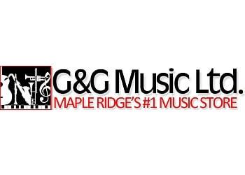 Maple Ridge music school G&G Music Ltd.