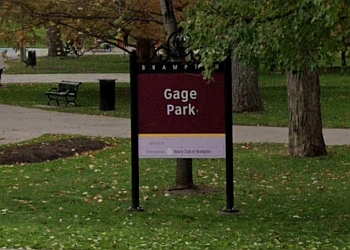 Brampton public park Gage Park