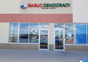 Orillia italian restaurant Garlic Democracy