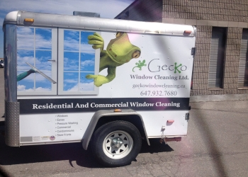Pickering window cleaner Gecko Window Cleaning Ltd.