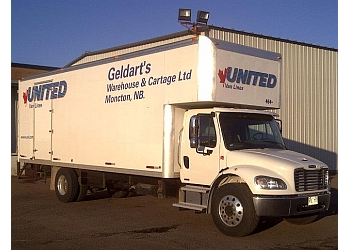Moncton moving company Geldart's Moving & Storage