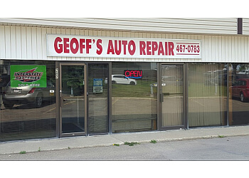 Sherwood Park car repair shop Geoff's Auto Repair