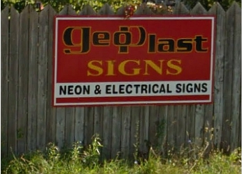 Sarnia sign company Geoplast Signs