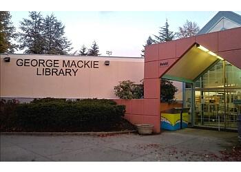 Delta landmark George Mackie Library