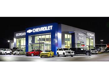 Barrie car dealership Georgian Chevrolet Buick GMC