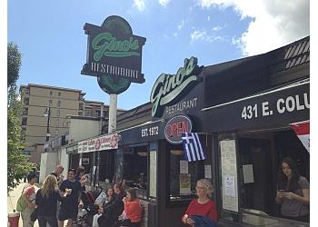 New Westminster italian restaurant Gino's Restaurant