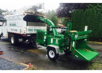 Maple Ridge tree service Give and Take Tree Service