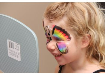 Hamilton face painting Glitterbug Face and Body Art