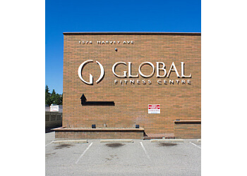 Kelowna gym Global Fitness & Racquet Centre