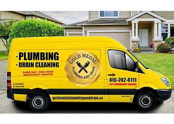 Mississauga plumber Gold Medal Plumbing and Drain