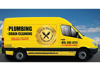 Mississauga plumber Gold Medal Plumbing and Drain