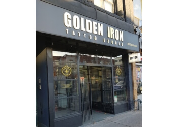 Toronto tattoo shop Golden Iron Tattoo Studio