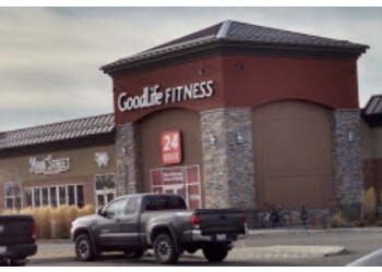 Airdrie gym GoodLife Fitness