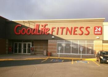 Fredericton gym GoodLife Fitness