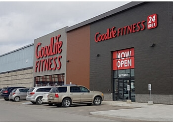Peterborough gym GoodLife Fitness