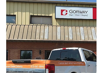 Kingston sign company Gorway