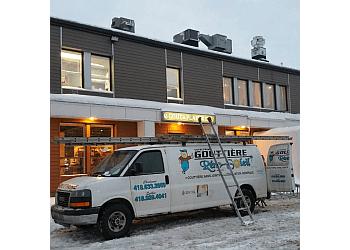 Quebec gutter cleaner Gouttière Réno Soleil
