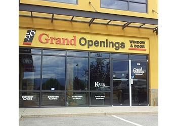 Kelowna window company Grand Openings Windows & Doors Ltd.