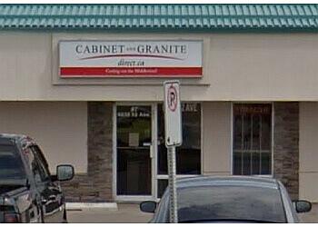 Red Deer custom cabinet Granite Direct Inc.