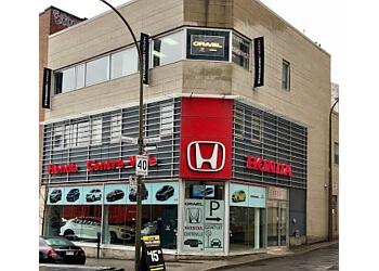 Montreal car dealership Gravel Honda Centreville