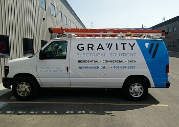 Calgary electrician Gravity Electrical Solutions Inc.
