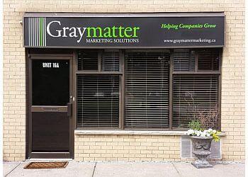Pickering advertising agency Graymatter Marketing Solutions Inc.