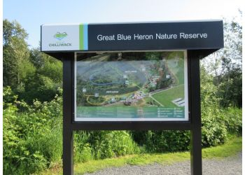 Chilliwack hiking trail Great Blue Heron Nature Reserve