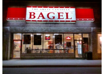 London bagel shop Great Canadian Bagel