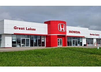 Sault Ste Marie car dealership Great Lakes Honda