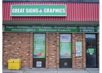Welland sign company Great Signs and Graphics