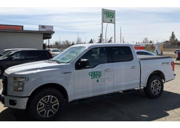 Saskatoon lawn care service Green Drop Lawns