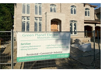 Toronto electrician Green Planet Electric