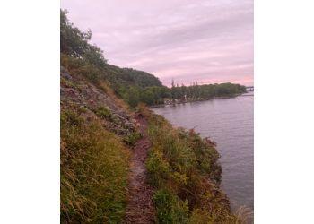 Sault Ste Marie hiking trail Gros Cap Bluffs