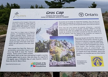 Sault Ste Marie hiking trail Gros Cap Conservation Area