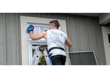 Blainville window cleaner Groupe C'est Propre