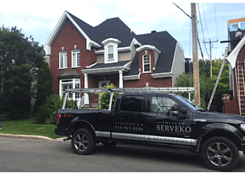 Blainville roofing contractor Groupe Serveko Inc.