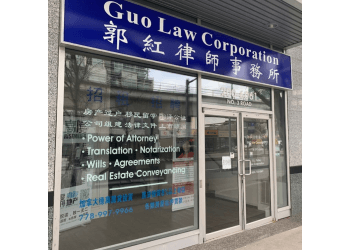 Richmond immigration lawyer Guo Law Corporation